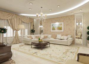 Чем дополнить интерьер в гостиной?
