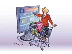 Преимущества магазинов в сети