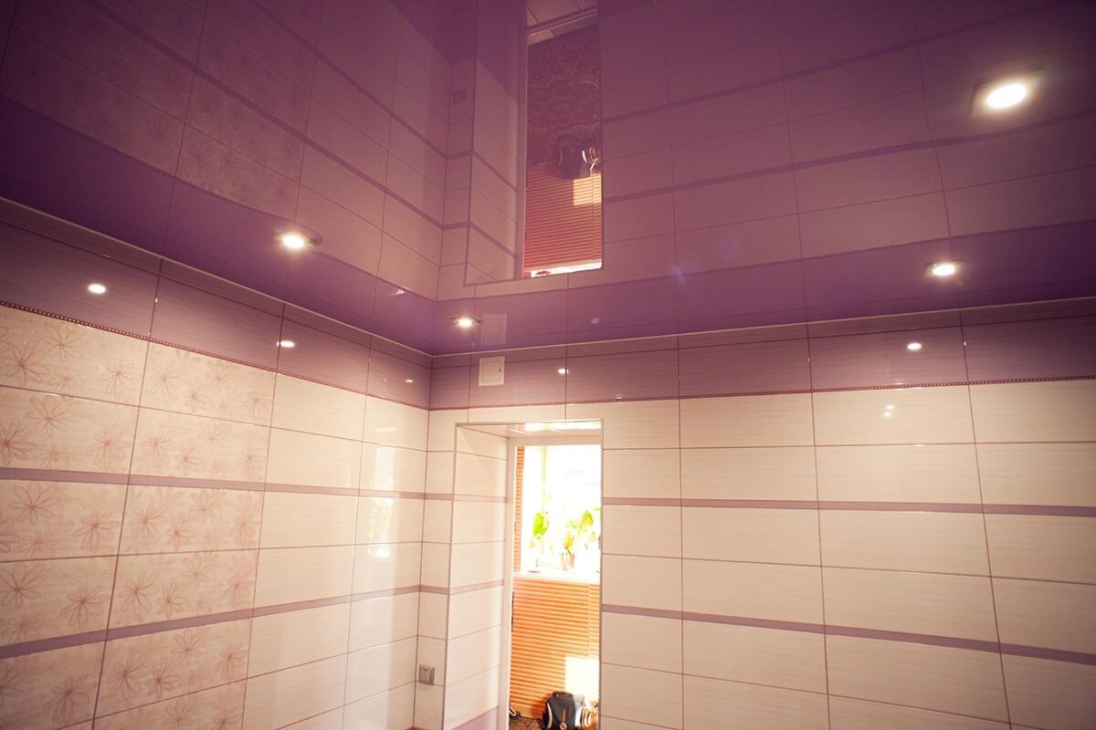 Подвесной потолок на кухне и в гостиной