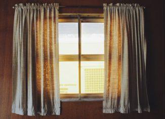 Украшения окон шторы