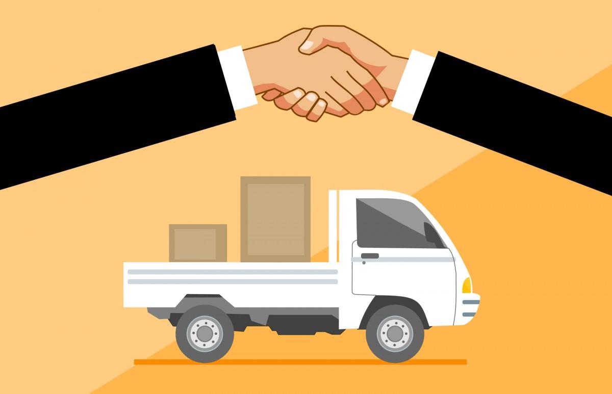 Доставка товаров для открытия бизнеса