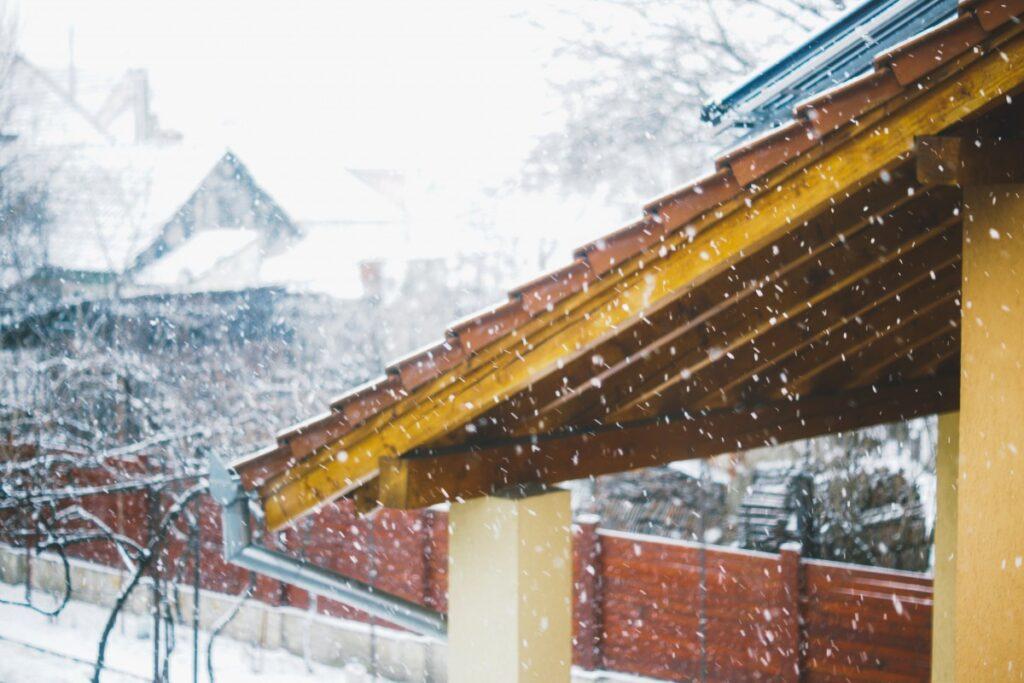 Преимущества строительства зимой